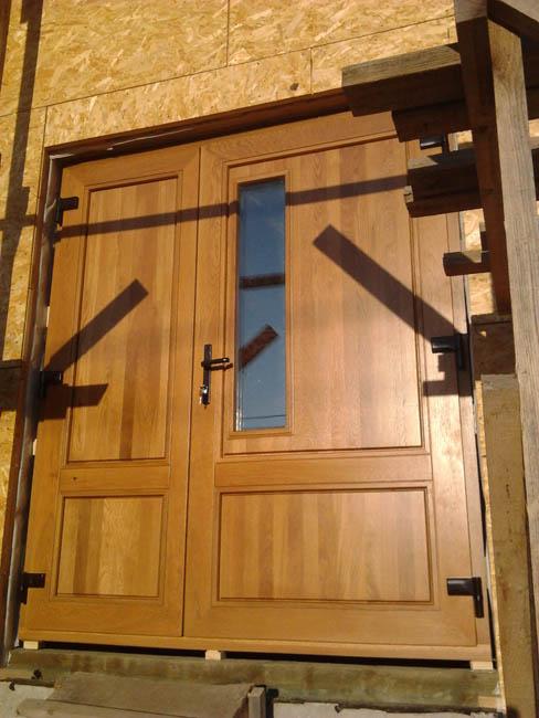 Как сделать деревянную дверь на дачу